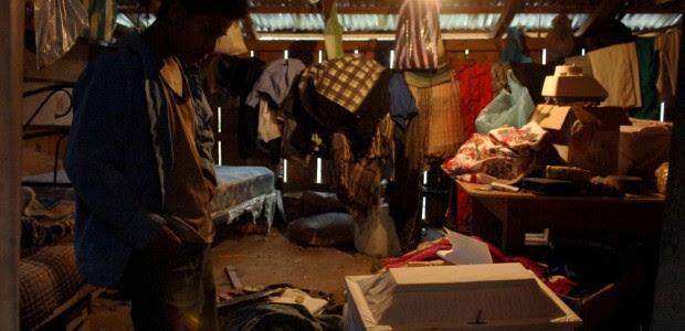 Pobreza extrema en Cochoapa, Guerrero. Foto: Miguel Dimayuga