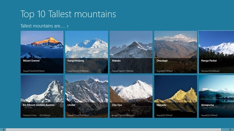 List Of Highest Mountains On Earth - Tallest Mountain In ...