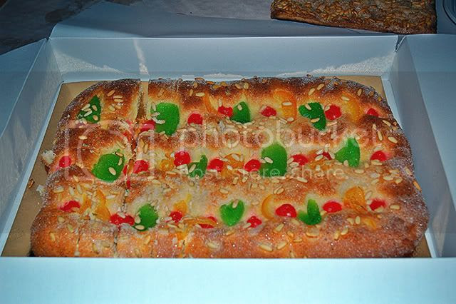 Candied Fruit Pastry or Coca de Sant Joan [enlarge]