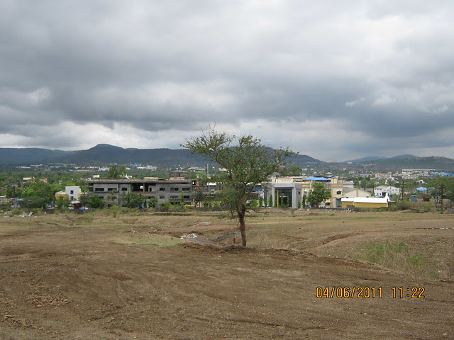 View from Vanalika Pirangut - upcoming township of 1 BHK & 2 BHK Flats on Paud Road - 8 kms from Chandani Chowk Kothrud Pune