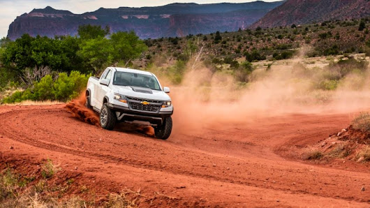 Review: Colorado ZR2: On-road manners, off-road capability