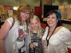 CHA Day 2: Julie, Mackenzie and Laura