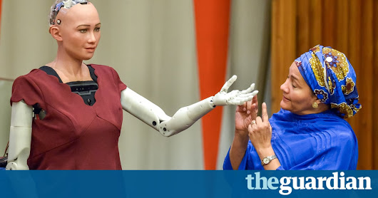'Sophia' the robot tells UN: 'I am here to help humanity create the future' – video