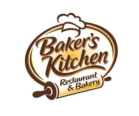 bakers kitchen restaurant  bakery logo vector