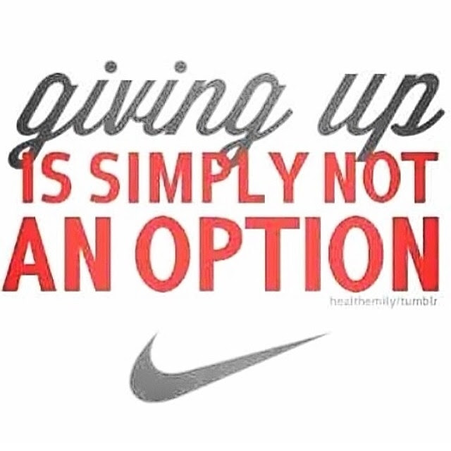 Giving Up Is Simple Not An Option Pictures Photos And Images For