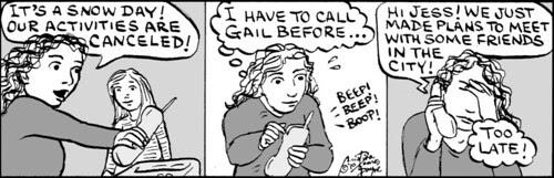 Home Spun comic strip #450