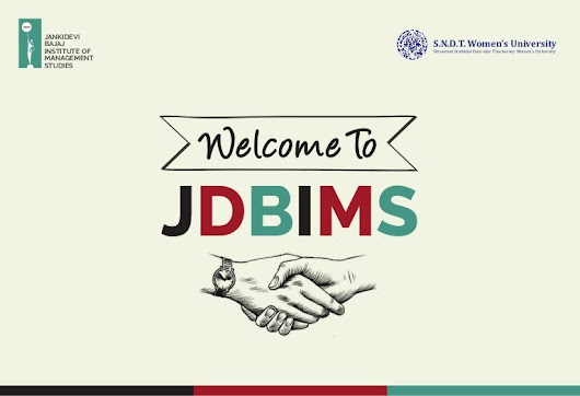 Welcome to JDBIMS SNDT WU - Interesting Opportunities