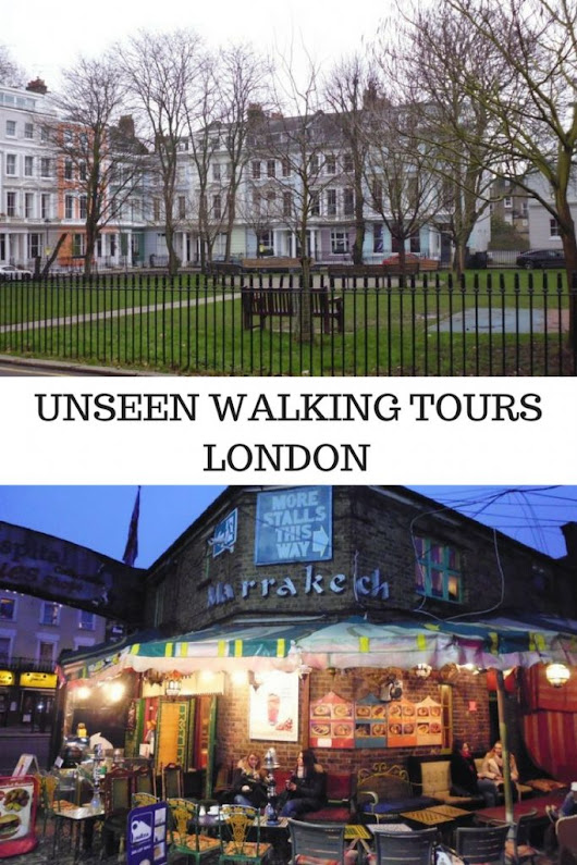 London Walking Tours - with a social conscience