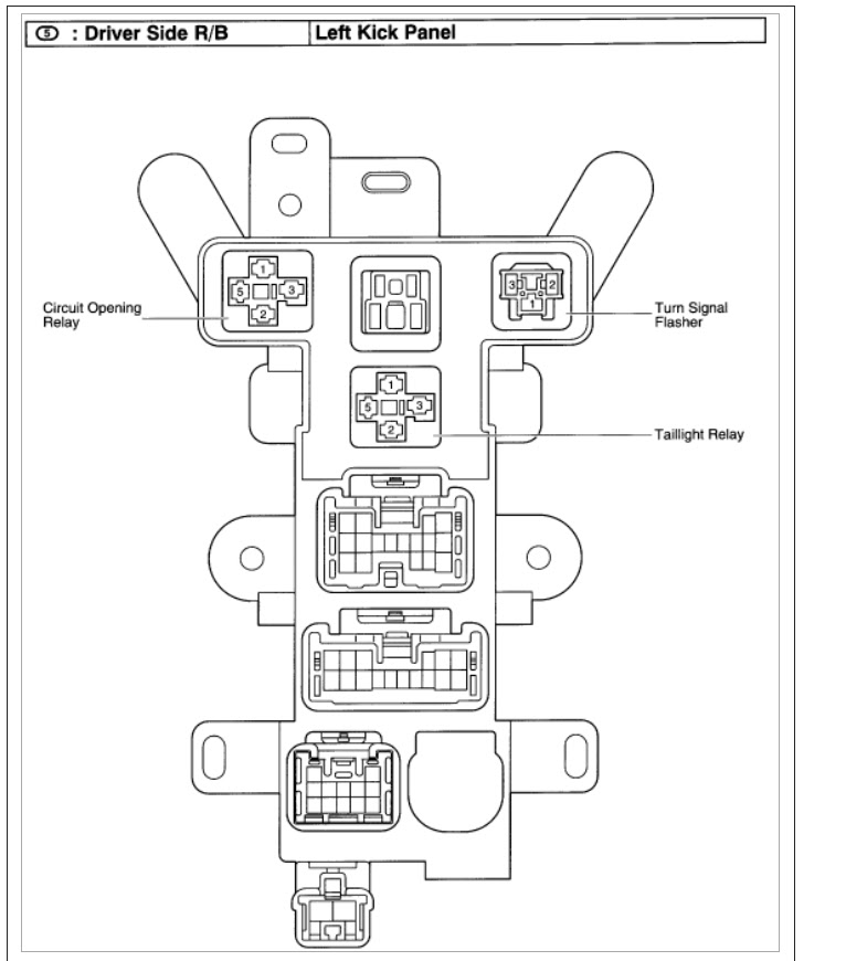 2000 Toyota 4 Runner Fuel Pump Wiring Diagram