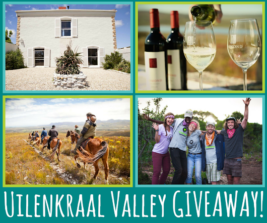 The Greenpop Overberg Giveaway - Uilenkraal Valley