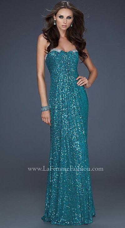 17458 La Femme Prom Dress S12