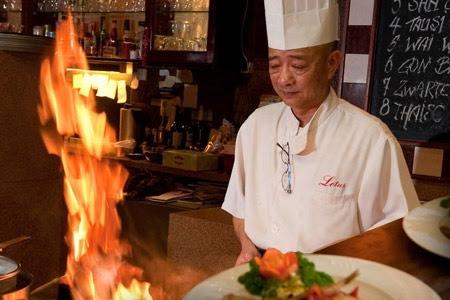 Benamingen uit Chinees-Indische restaurants