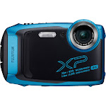 Fujifilm FinePix XP140 16.4 MP Compact Ultra HD Digital Camera - 4K - Sky blue