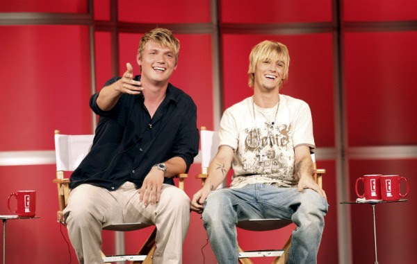 Os irmãos Nick e Aaron Carter (Foto: Getty Images)