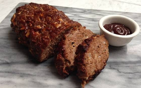 Old Fashioned Meatloaf With Oats