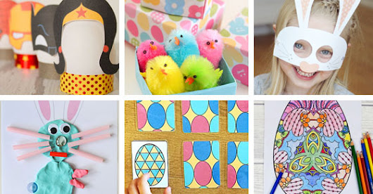 Fun Free Easter Printables for Kids - Picklebums