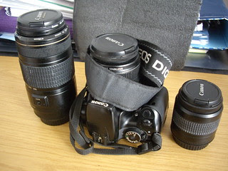 Bolso para la cámara.