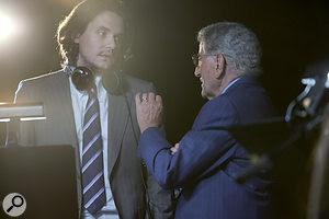 John Mayer with Tony Bennett.