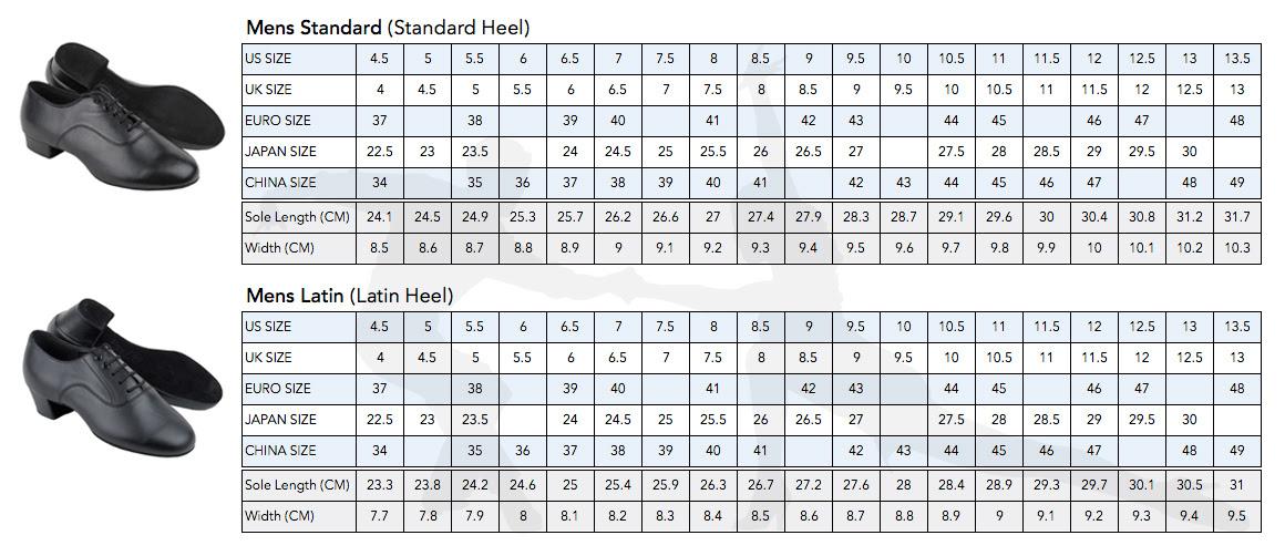 Us Uk Shoe Sizing Chart