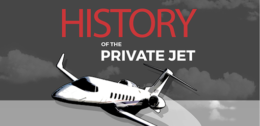 History of private jets - lifestyle magazine and Airshare