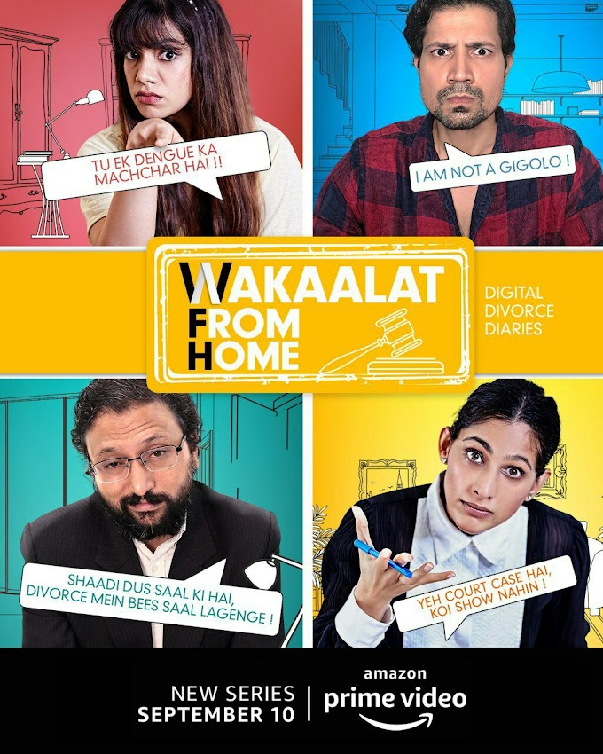 Wakaalat From Home Season 01 (2020) 480p 720p WebRip | Amazon Prime Original