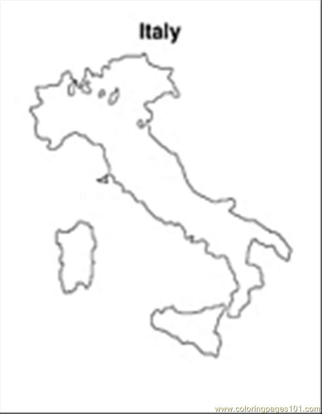 Italy01 Coloring Page - Free Italy Coloring Pages ...