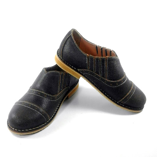 Kids Leather Oxford Shoes