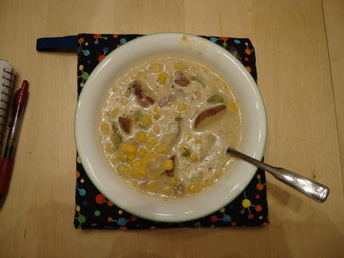 corn chower redux 1/16/11