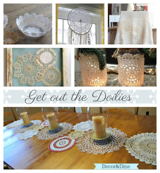 Get out the Doilies!