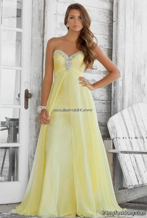pale yellow bridesmaid dresses 20162017  b2b fashion
