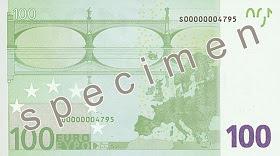 100 euron setelin takasivu
