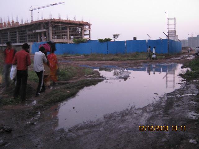 In the Back Lane of Rajiv Gandhi Infotech Park Hinjewadi - 4
