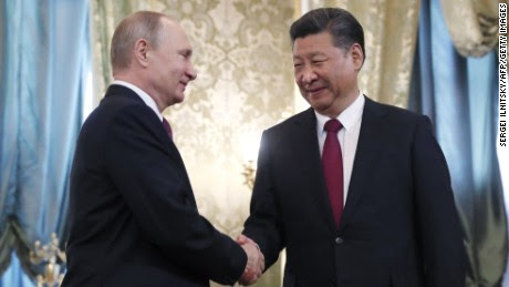 Trump's biggest nightmare? China and Russia's newfound friendship