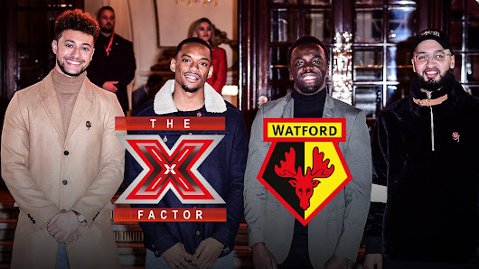 Rak-Su return to Watford FC Vicarage Road ahead of X Factor Finals 2017