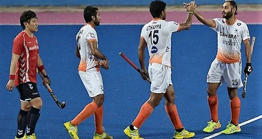 India vs Japan Hockey Game Sultan Azlan Shah 2017 Cup Live Score, Live Streaming And News - Play Caper