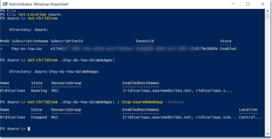 Mount an Azure drive using PowerShell – 4sysops