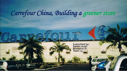 Carrefour  china case study-solution