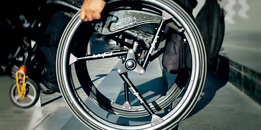 An Ingenious Shock-Absorbing Wheel for Bikes and Wheelchairs | Design | WIRED
