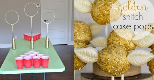 "34 Magical Ideas For The Ultimate ""Harry Potter"" Party"