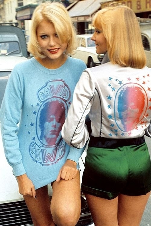 Stardust Memories: David Bowie Fans, ca. 1970s via Imgur