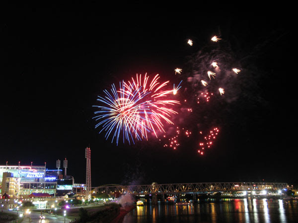 Reds fireworks night