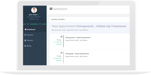 Practice Management Software | Local Physio