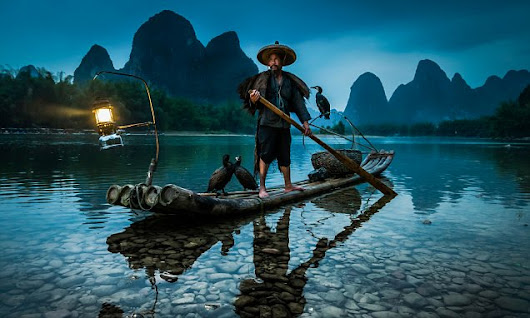Meet the villagers keeping the tradition of cormorant fishing alive