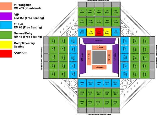 Stadium seating map(update)
