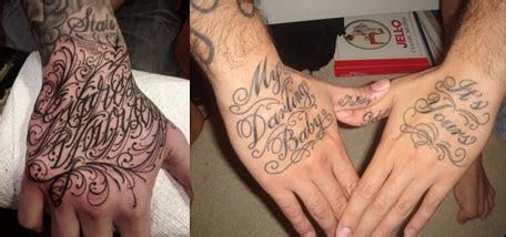 hand lettering tattoo tattoos