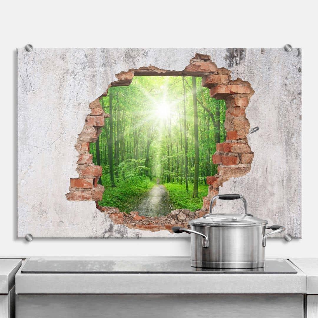 Spritzschutz Kuche Glas Befestigung Kuchenruckwand Wandpaneele Kuche Caseconrad Com