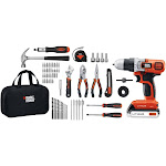 Black & Decker LDX120PK 20V Max Lithium Drill & Project Kit