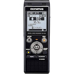 Olympus WS-853 Digital Voice Recorder - 8 GB - up to 260 hrs (MP3 Recording) - 64 kbps - Black