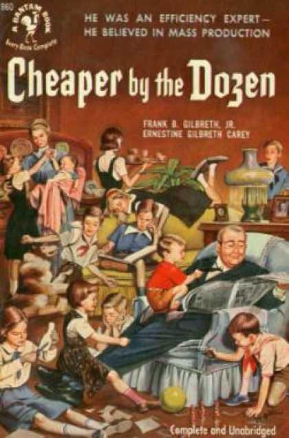 Cheaper By The Dozen Book I Love Quotes