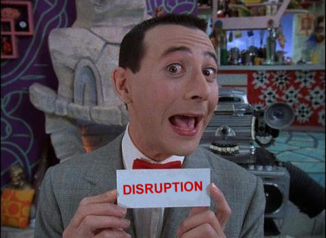 Time to Disrupt Disruption